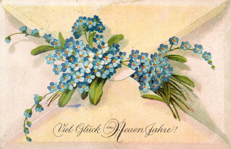 Das Goethezeitportal: Neujahr in Bildern und Texten
