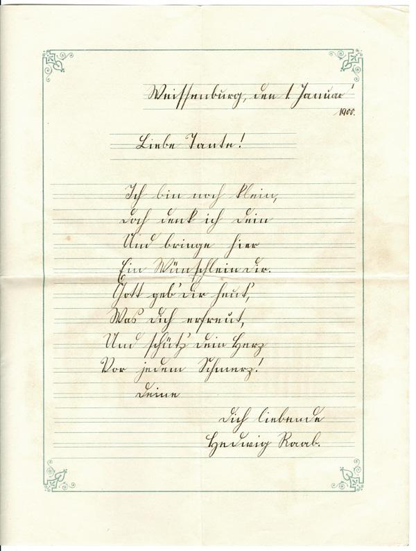 Das Goethezeitportal: Neujahr 2011