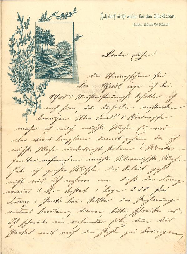 Briefe Goethe Und Schiller : Das goethezeitportal verzierte briefbogen ich darf