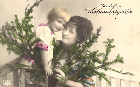 Beste Weihnachtsgrüße.Das Goethezeitportal Weihnachten In Bildern Und Texten