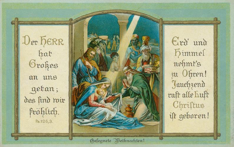 Das Goethezeitportal: Weihnachten 2011