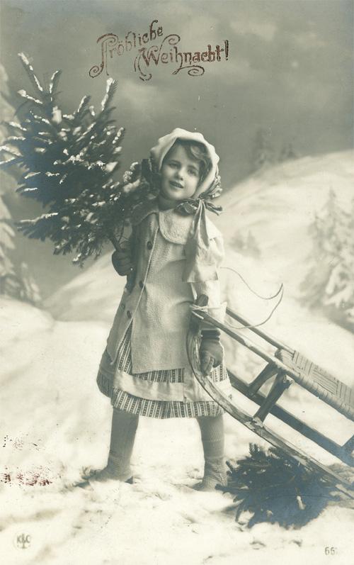 Nostalgische Weihnachtsbilder.Das Goethezeitportal Weihnachten 2014