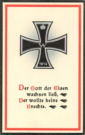 das goethezeitportal: »arndt-motive auf postkarten«: arndt-sprüche