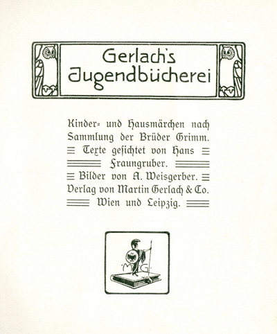 Das Goethezeitportal Kinder Und Hausmärchen Der Brüder