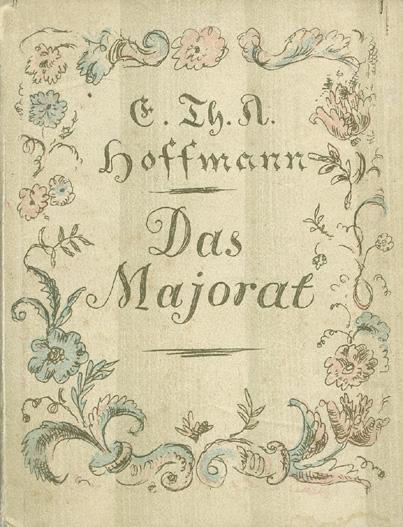 Das Goethezeitportal: Das Majorat illustriert von Julius Zimpel