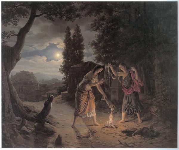 Das Goethezeitportal: Der Mond: Gedichte und Bilder 1. Teil