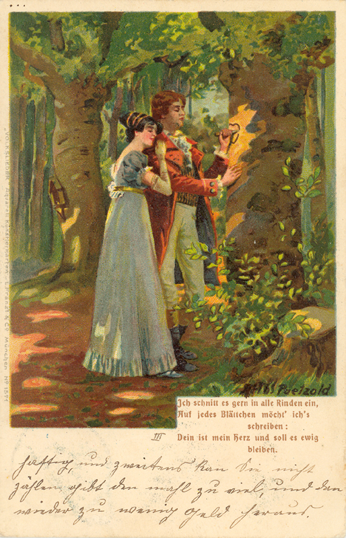 gruß und kuss dein julius goethe
