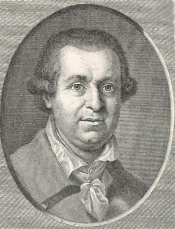 <b>Johann Karl</b> August Musäus. Kupferstich von Joh. H. Lips. In: Goethe. - Musaeus_Lips_Koennecke__350x459_