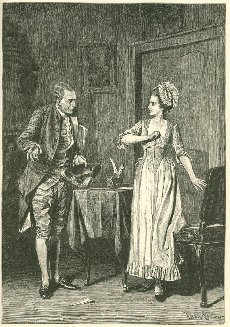 Das Goethezeitportal Schillers Kabale Und Liebe In Illustrationen