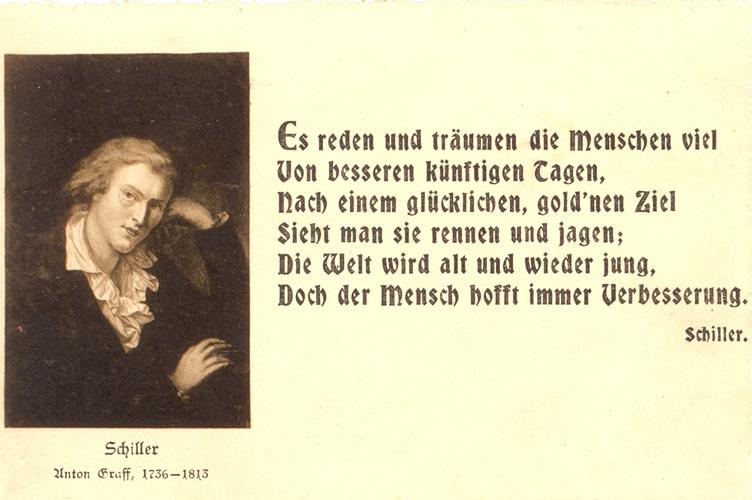 Weisheiten Zitate Gefuhle Zitat Von Friedrich Schiller