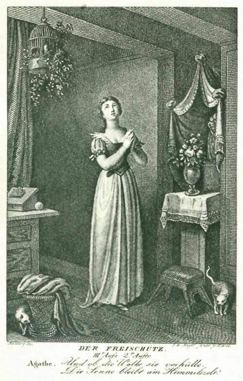 Das goethezeitportal carl maria von weber freisch tz for Schwarze blumentopfe