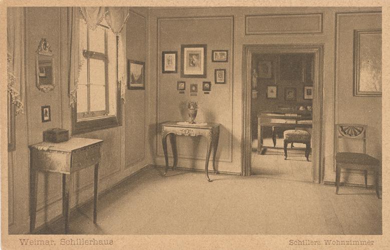 Das Goethezeitportal Schillerhaus In Weimar