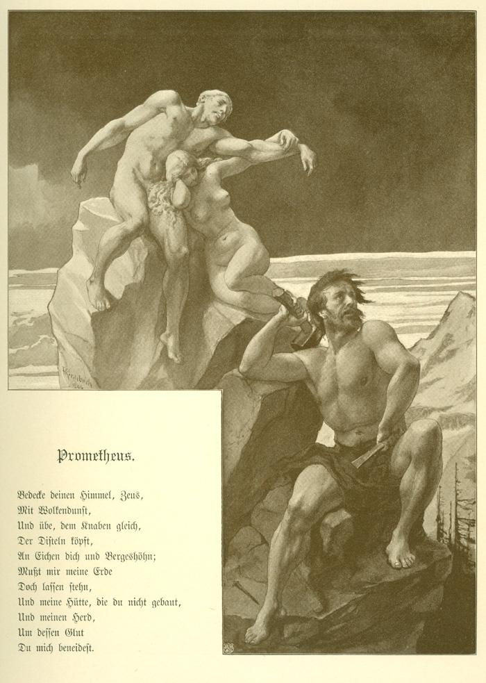 prometheus gedicht vortrag