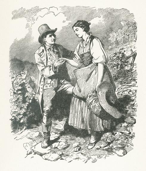 Das Goethezeitportal Illustrationen Der Werke Von Goethe