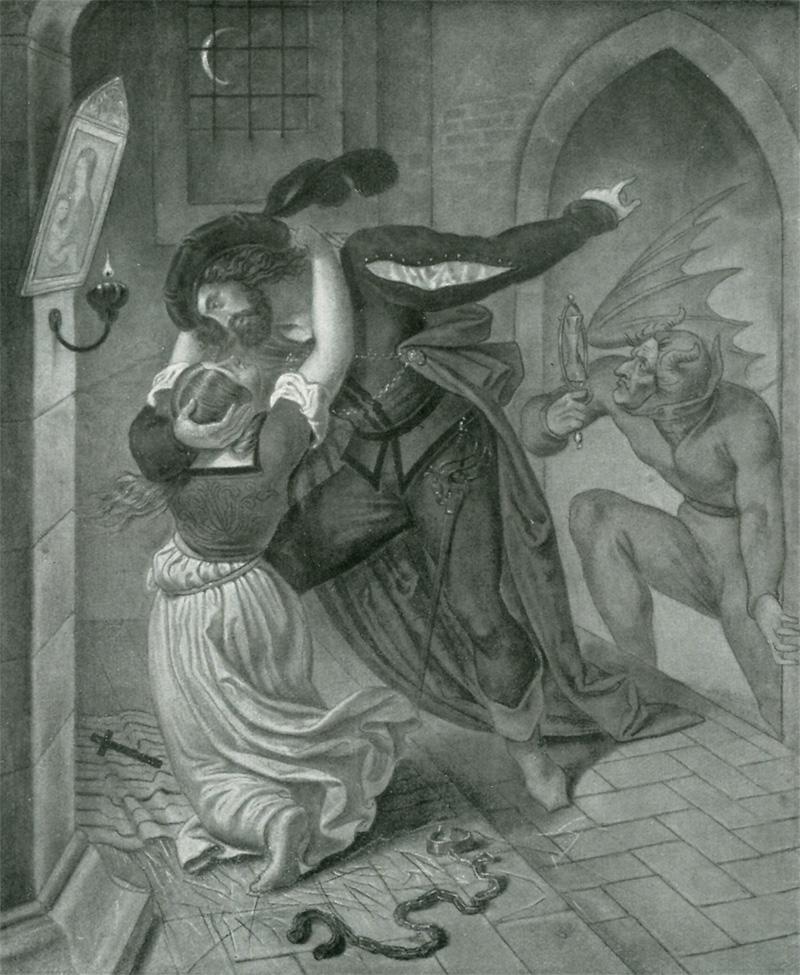 Das Goethezeitportal: Paul Mila: Faust-Illustrationen