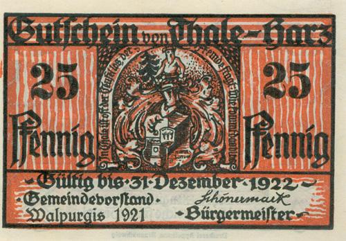 Das Goethezeitportal Walpurgisnacht Auf Notgeldscheinen