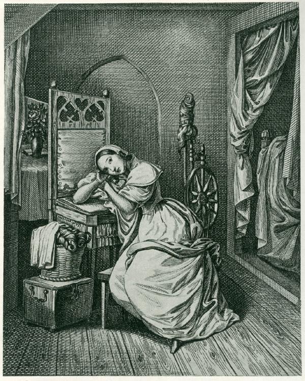 Das Goethezeitportal: Gustav Schlick: Illustrationen zu Goethes Faust