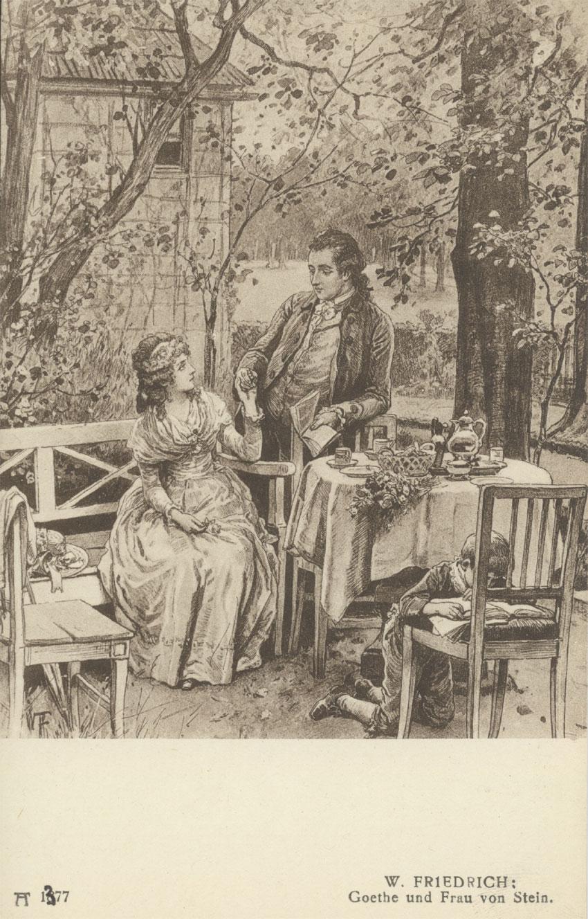 Das Goethezeitportal Goethe In Weimar