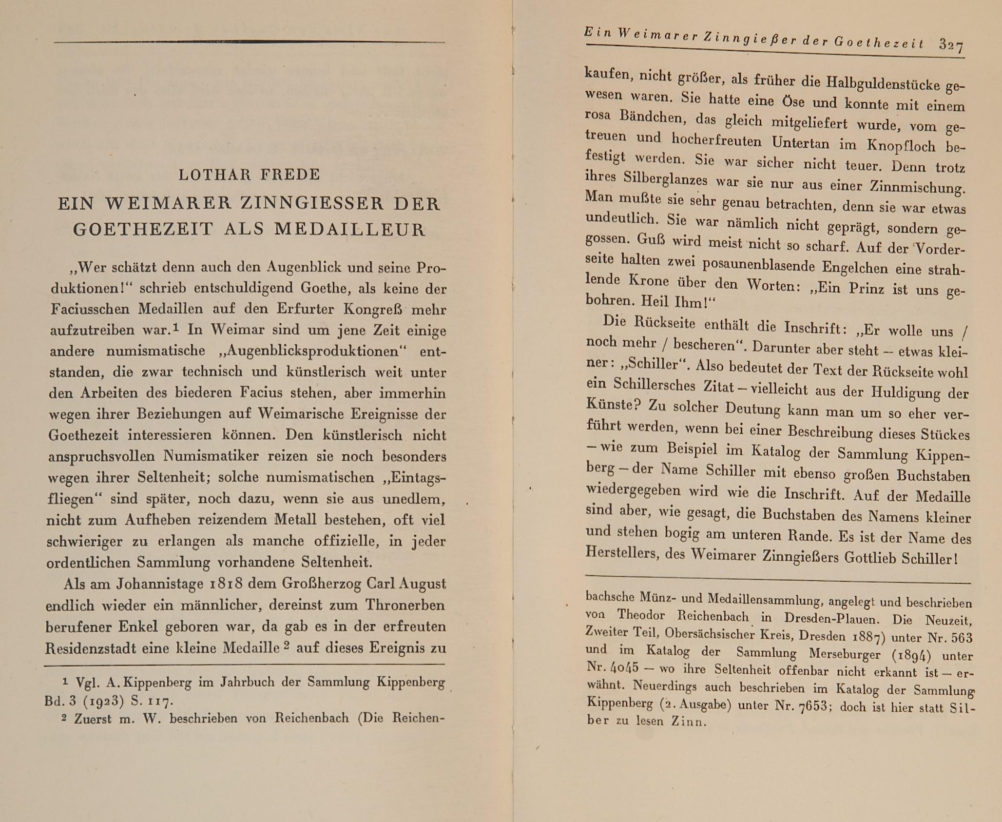 Das Goethezeitportal: Band 8 - Blatt 170