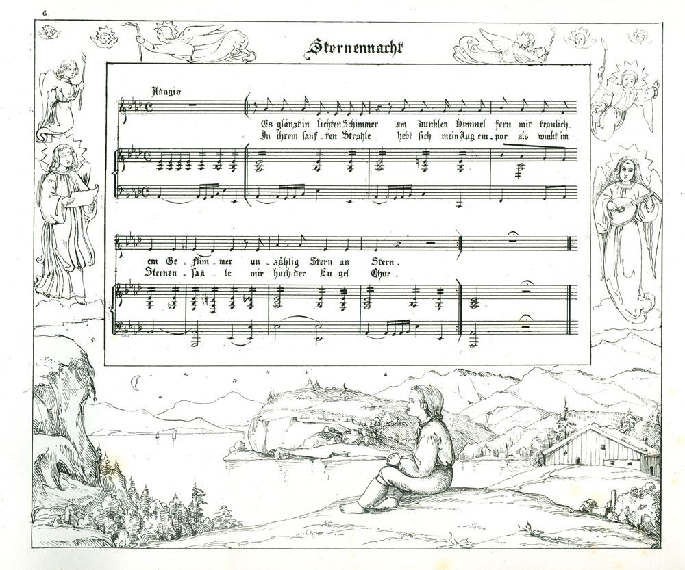 Das Goethezeitportal: Sechs Lieder gedichtet von Friedrich Beck