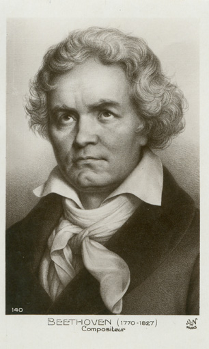 Beethoven. Verlag A. Noyer in Paris