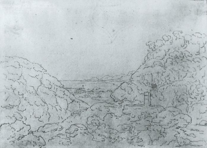 Johann Wolfgang Goethe, Bei Palermo, Blick Vom Monte Pellegrino