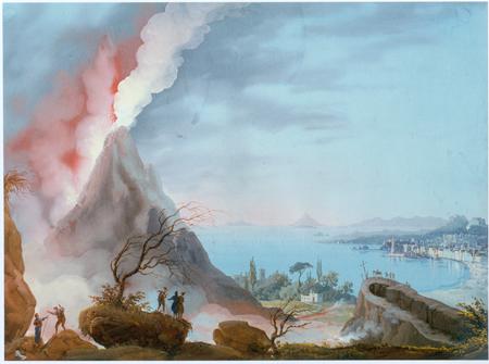 Das Goethezeitportal: Der Vesuv