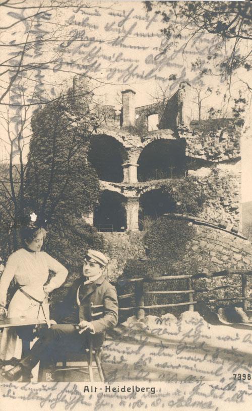 Bildergebnis für Postkarten Alt Heidelberg - fotos