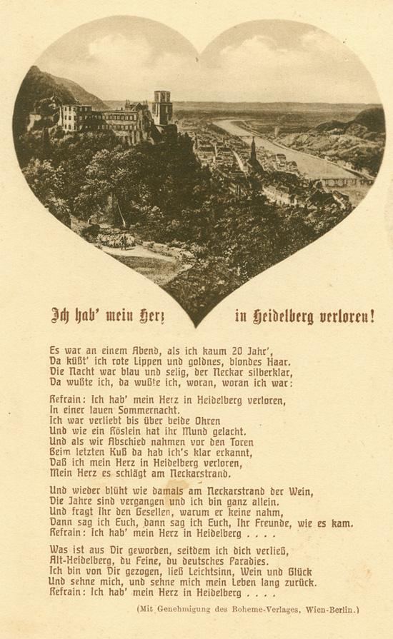 Das Goethezeitportal: Ich hab mein Herz in Heidelberg